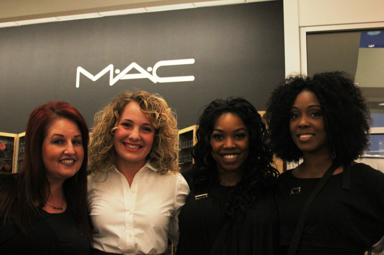 Wow...this was February! I got my make up done by these wonderful women at MAC before Birmingham Fashion Week 2012! I had only published two blogs before I was out reporting about fashion shows! Oh, how the time has flown by!