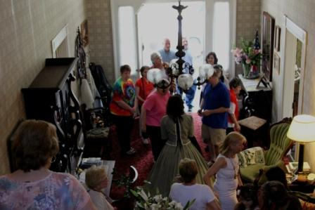 People from all over the South were at the home tours this Saturday!