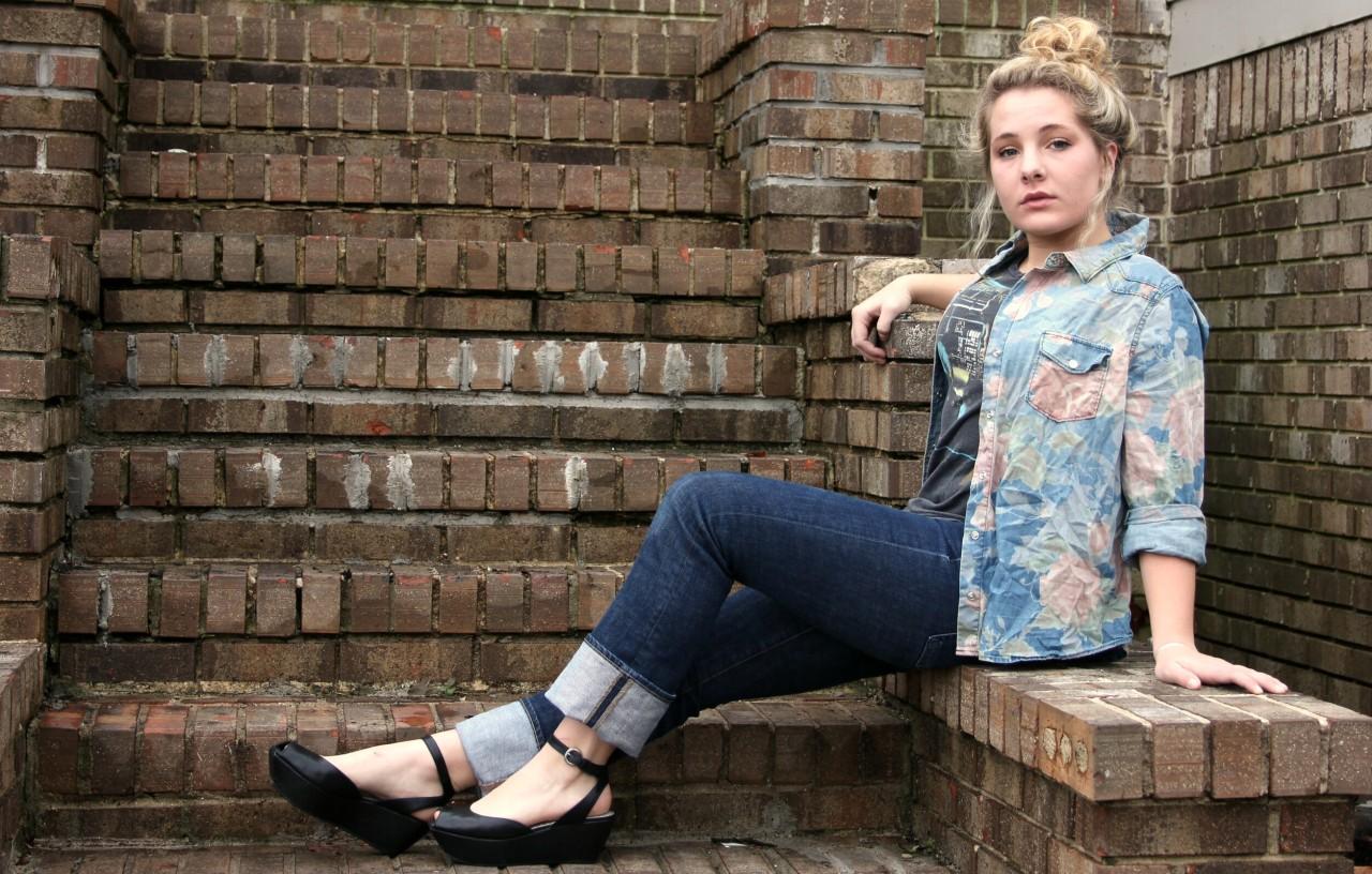 Floral Denim: TargetTank Top: Urban Outfitters Jeans: JCrew Shoes: BCBGirls