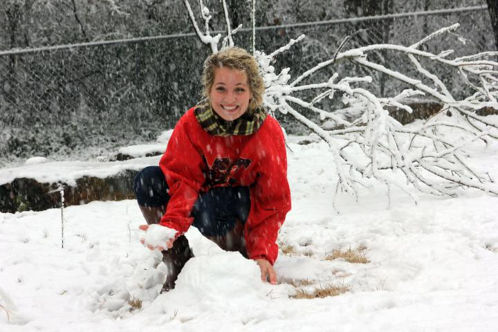 Can I please have snow everyday in the winter? Please and thank you! :)