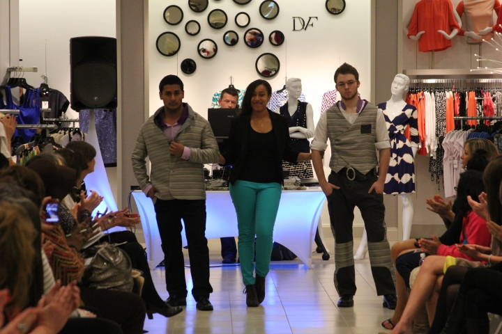 Ayana Ames (University of Alabama) designed dashing men's apparel for the BFW 2013 Emerging Designers' Competition.