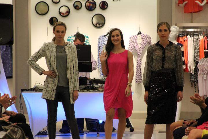 Allison Mills (University of Alabama), the VIP wants that sensational sequined skirt!