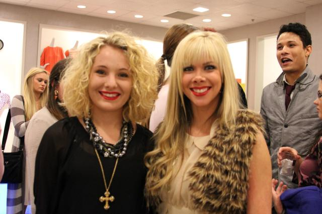 Mandi Faulk and I at the Saks Emerging Designer Reveal.