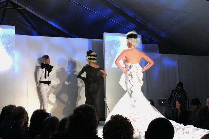 (photo from Birmingham Fashion Week 2012. Photo courtesy of VIP blog)