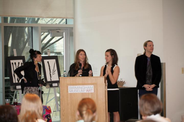 (photo from Birmingham Fashion Week 2013 Rising Design Star Reception. Photo courtesy of VIP blog)
