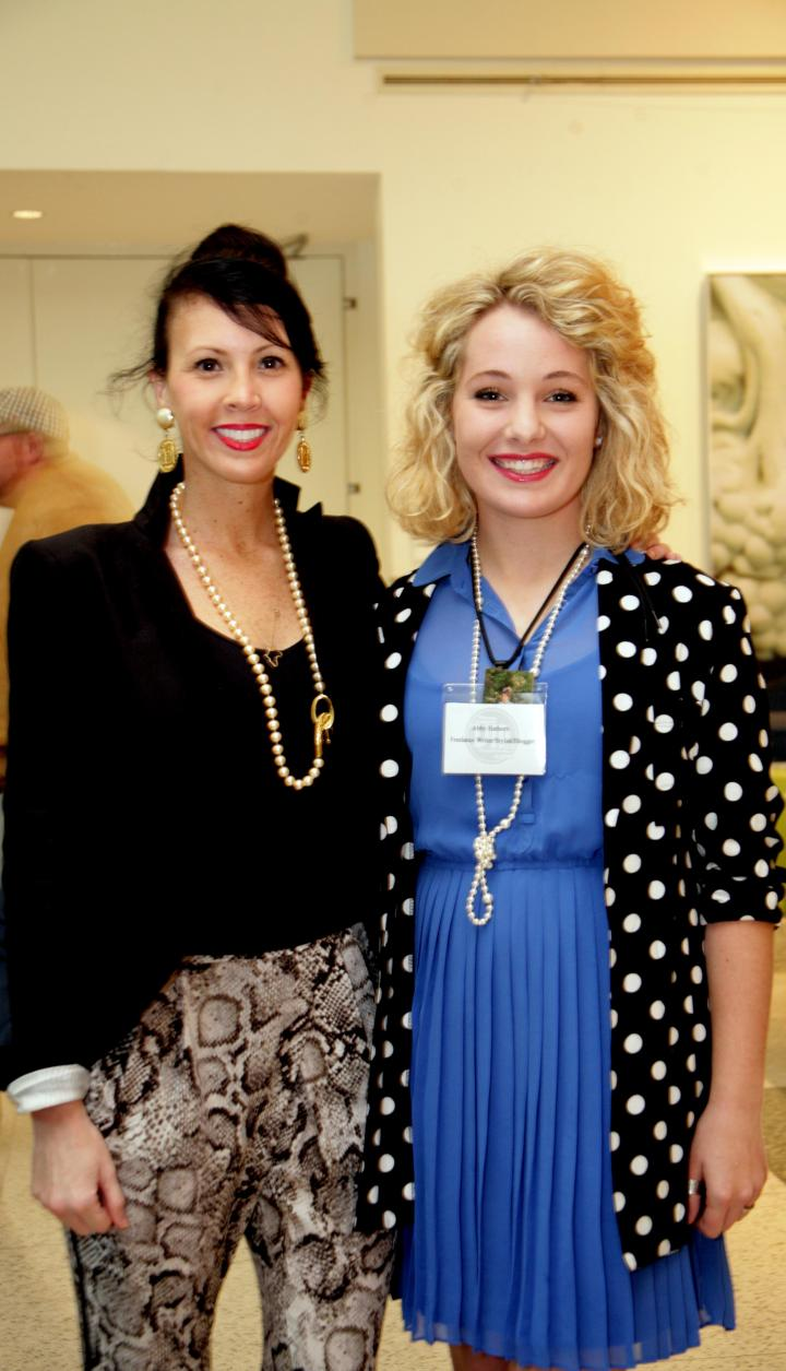 Jeana Fleming, co-founder of Birmingham Fashion Week, was looking totally glamorous at the Rising Design Star Reception so I just had to get a picture with her!