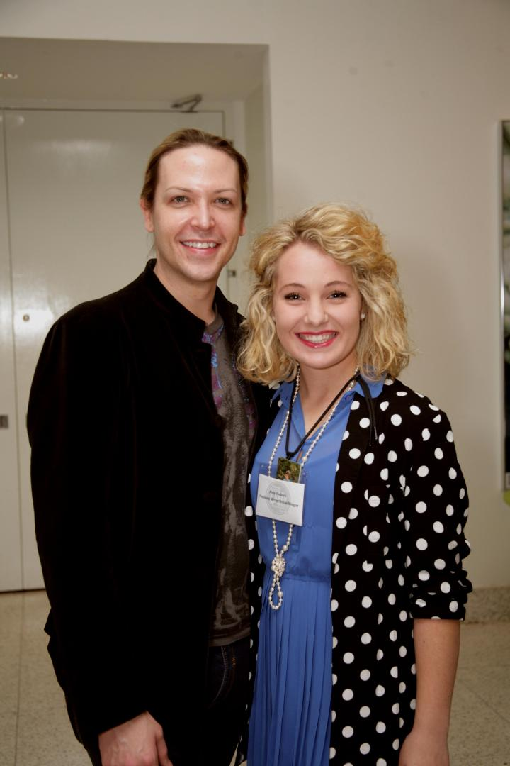 Jeremy Stephens and I at the BFW 2013 Rising Design Star Reception