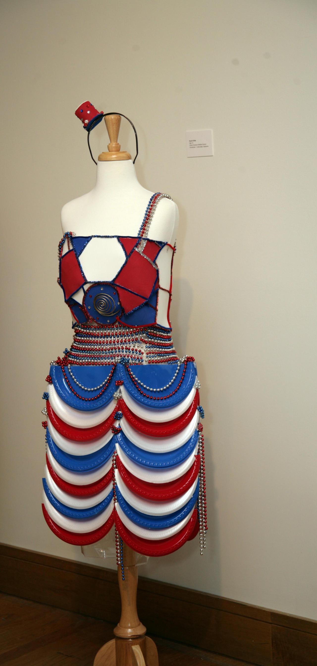 Designer: Kayla Kittle, age 14. Kayla attends Davis Emerson Middle School.