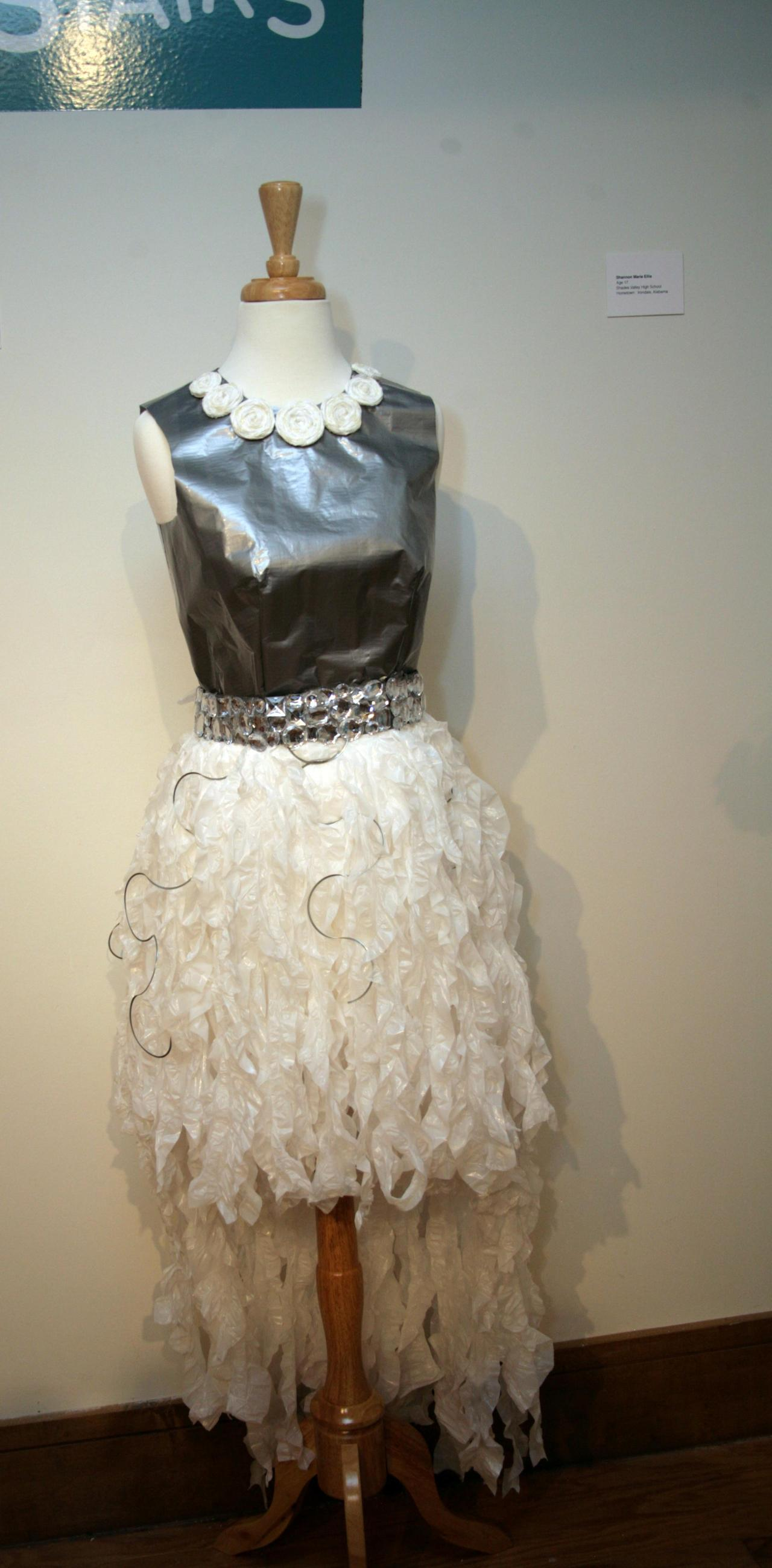 This high-low dress masterpiece was designed by Olivia Kampworth (age 17, attends Vestavia Hills High School).