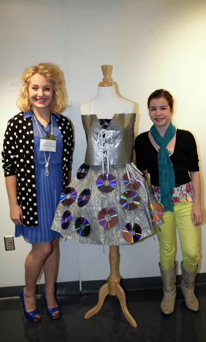 Cecily Anderson (age 13) designed this spectacular frock! She attends Pizitz Middle School)
