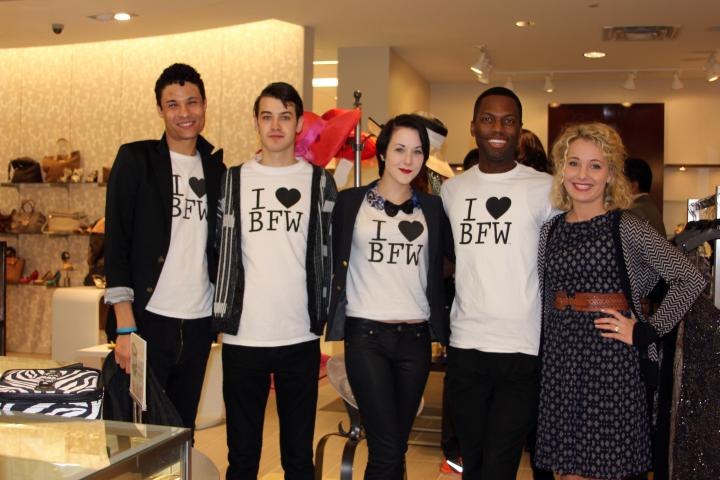 Brandon, Ellis, Abbey, and Michael were such fun BFW models to meet!