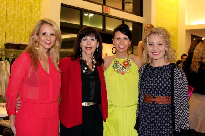 The VIP was pleased to meet Jeana Fleming's sister and mom at the party. They all dress so amazing!