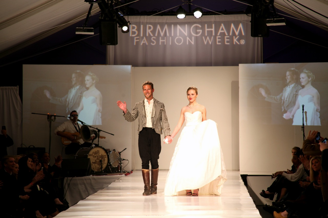 Is that...Jeff Garner on the Birmingham Fashion Week runway? Yes. Yes, it is!PHOTO CREDIT: NATALIE NORRIS PHOTOGRAPHY
