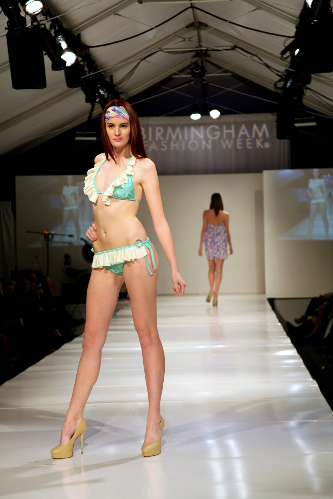 Leona apparel featured on the BFW Thursday night runway show. Doesn't this collection make you ready to soak up the summer sun! PHOTO CREDIT: NATALIE NORRIS PHOTOGRAPHY