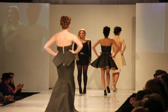 AnnaKay Winford's (BFW 2013 Emerging Designer) collection. Photo Credit: Vintage Inspired Passionista