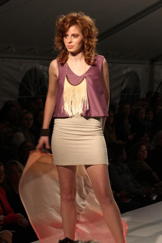 Kassie Gerk's (BFW 2013 Emerging Designer) collection. Photo Credit: Vintage Inspired Passionista