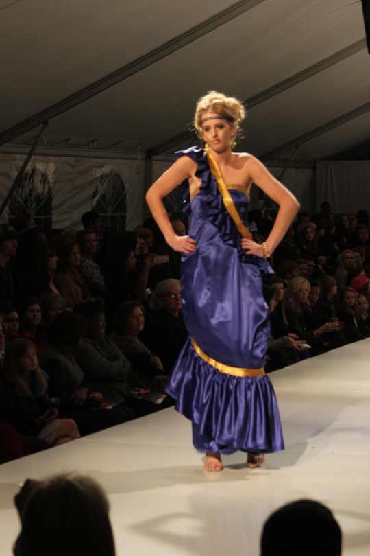Stephanie Nunez's (BFW 2013 Emerging Designer) collection. Photo Credit: Vintage Inspired Passionista