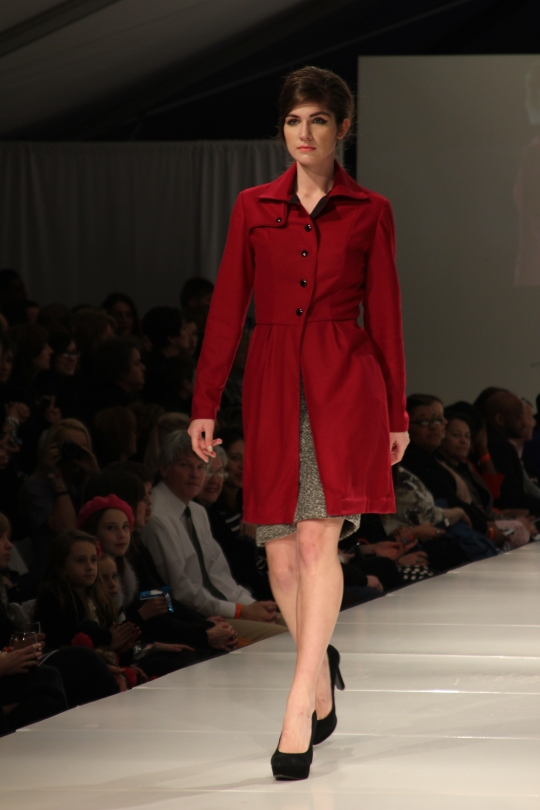 Kelly Druce's (BFW 2013 Emerging Designer) collection. Photo Credit: Vintage Inspired Passionista
