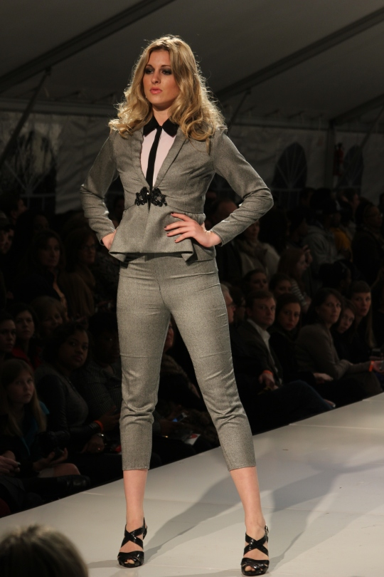 Allison Mills' (BFW 2013 Emerging Designer) collection. Photo Credit: Vintage Inspired Passionista