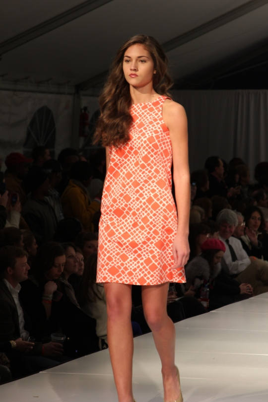 """The Annie Griffin Collection is distinguished by a retro flair, channeling soft feminine silhouettes from an earlier era...,"" www.bhamfashionweek.com"