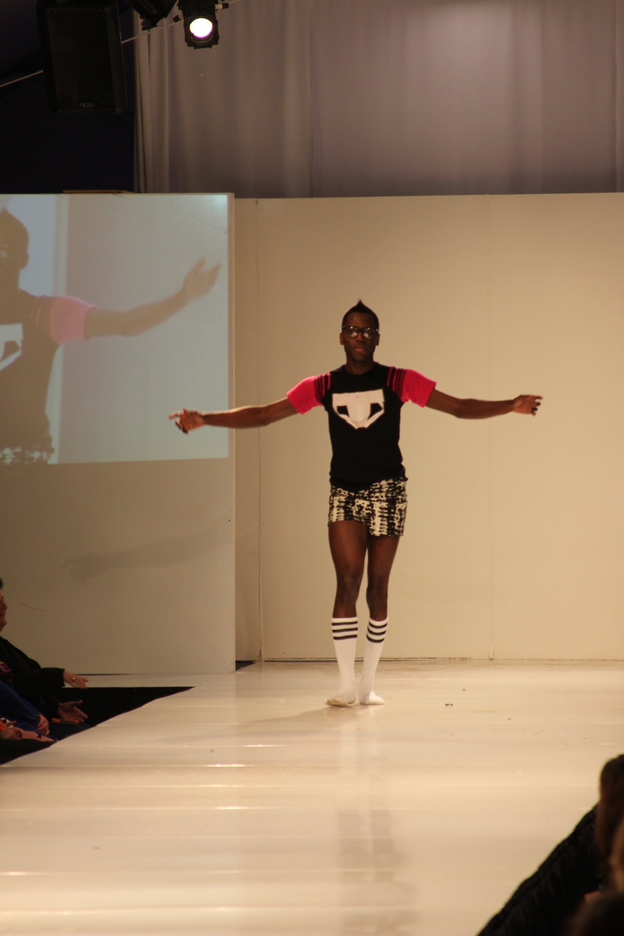 Joshua McKinley's Collection | Birmingham Fashion Week 2013 | Photo Credit: Vintage Inspired Passionista