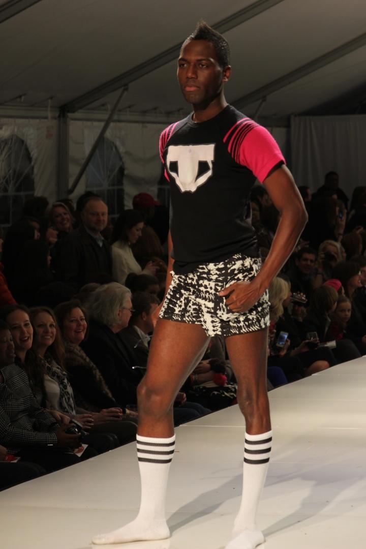 Joshua McKinley's Collection | Birmingham Fashion Week 2013 Photo Credit: Vintage Inspired Passionista