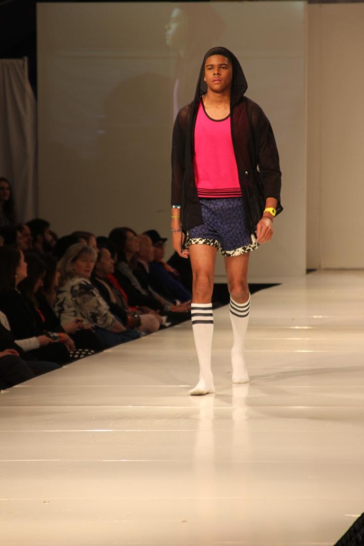 Joshua McKinley's Collection | Birmingham Fashion Week 2013Photo Credit: Vintage Inspired Passionista