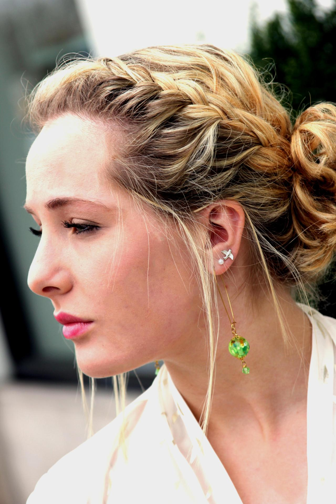 Earrings: BluKat Designs by Heather O'Cain
