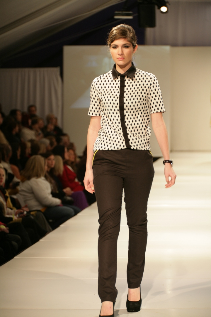 Kelly Druce's Collection | Birmingham Fashion Week 2013Photo Credit: Vintage Inspired Passionista