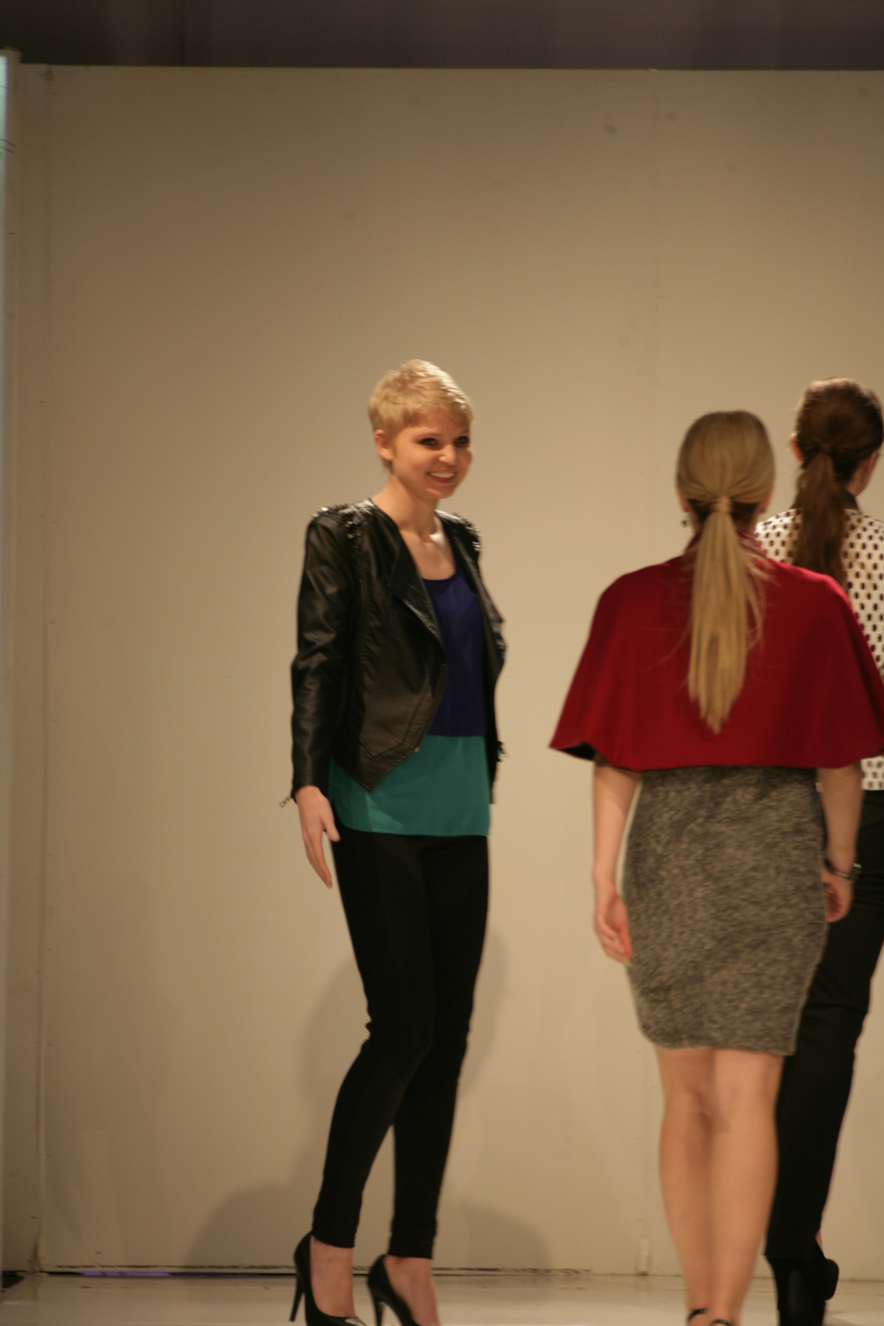 Kelly Druce with her Collection | Birmingham Fashion Week 2013Photo Credit: Vintage Inspired Passionista