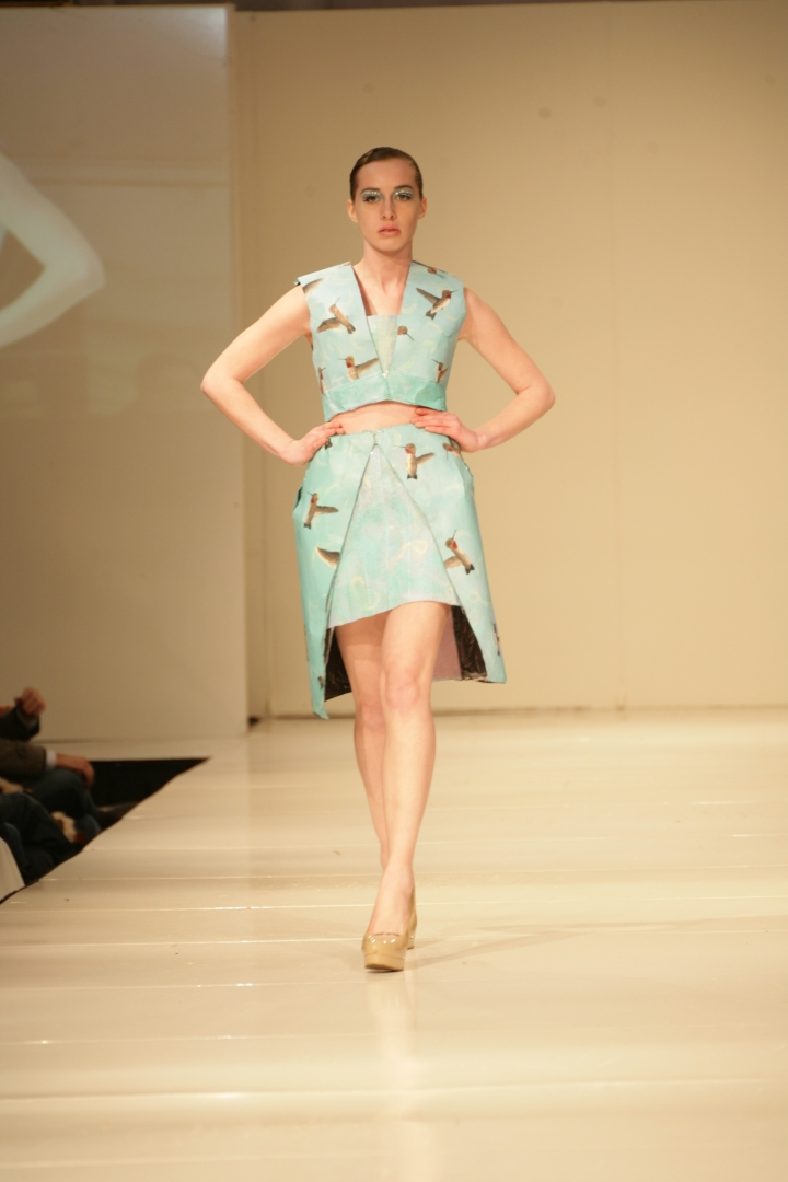 Bradford Billingsly's Design | Birmingham Fashion Week 2013Photo Credit: Vintage Inspired Passionista
