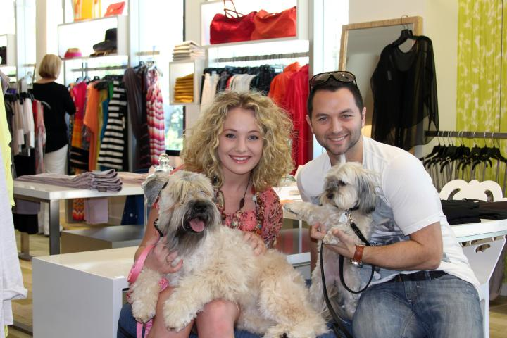 Gene Kagan, Sophie, Mattie, and the VIP had a delightful time at the Lola and Sophie Trunk Show at Gus Mayer in Birmingham, Alabama! I just love it when fashion designers come to the South!