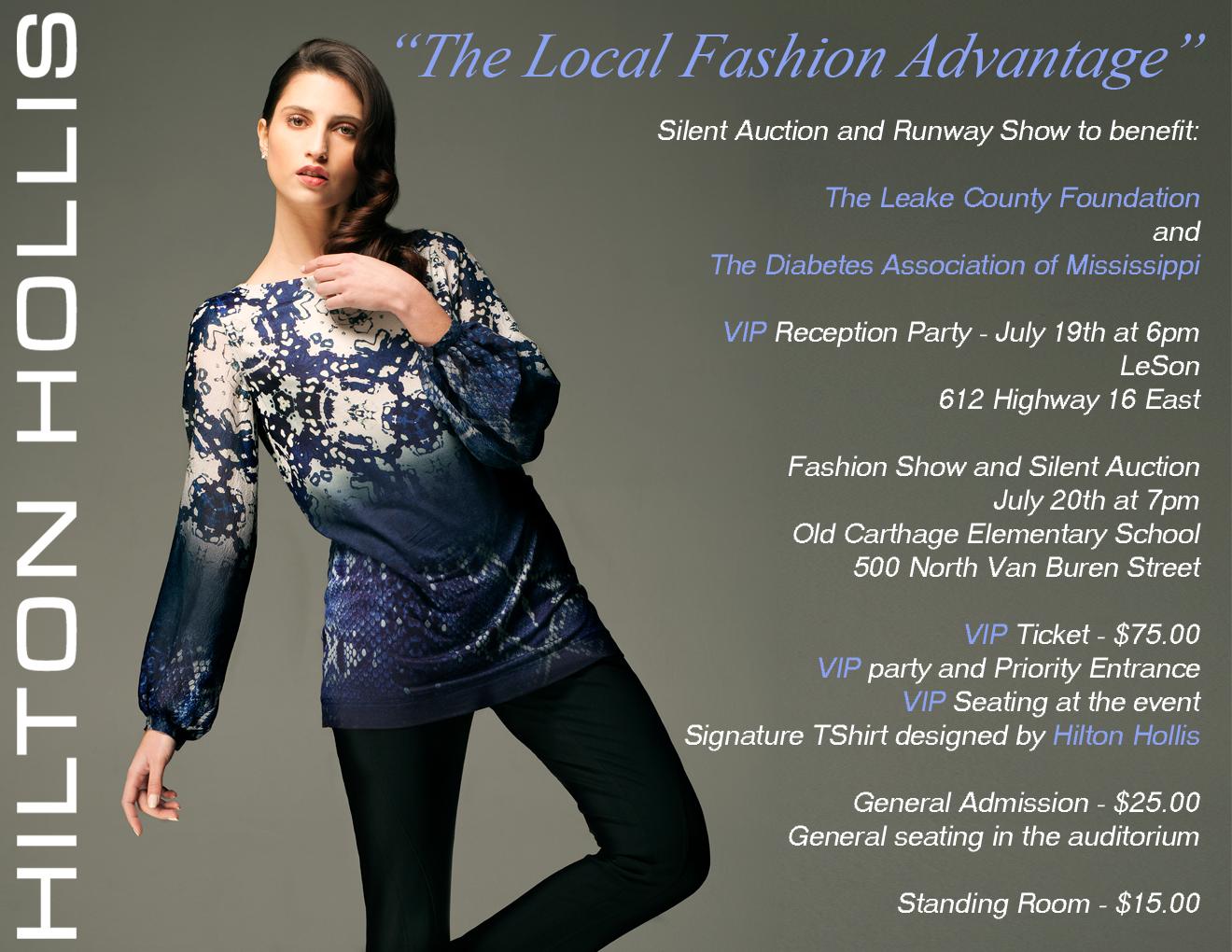 The Local Fashion Advantage By Renowned Fashion Designer Hilton Hollis