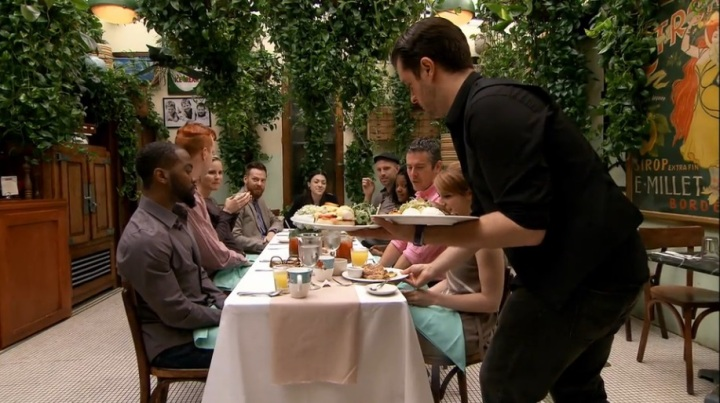 Southern style brunch on Project Runway Season 12 Episode 9.