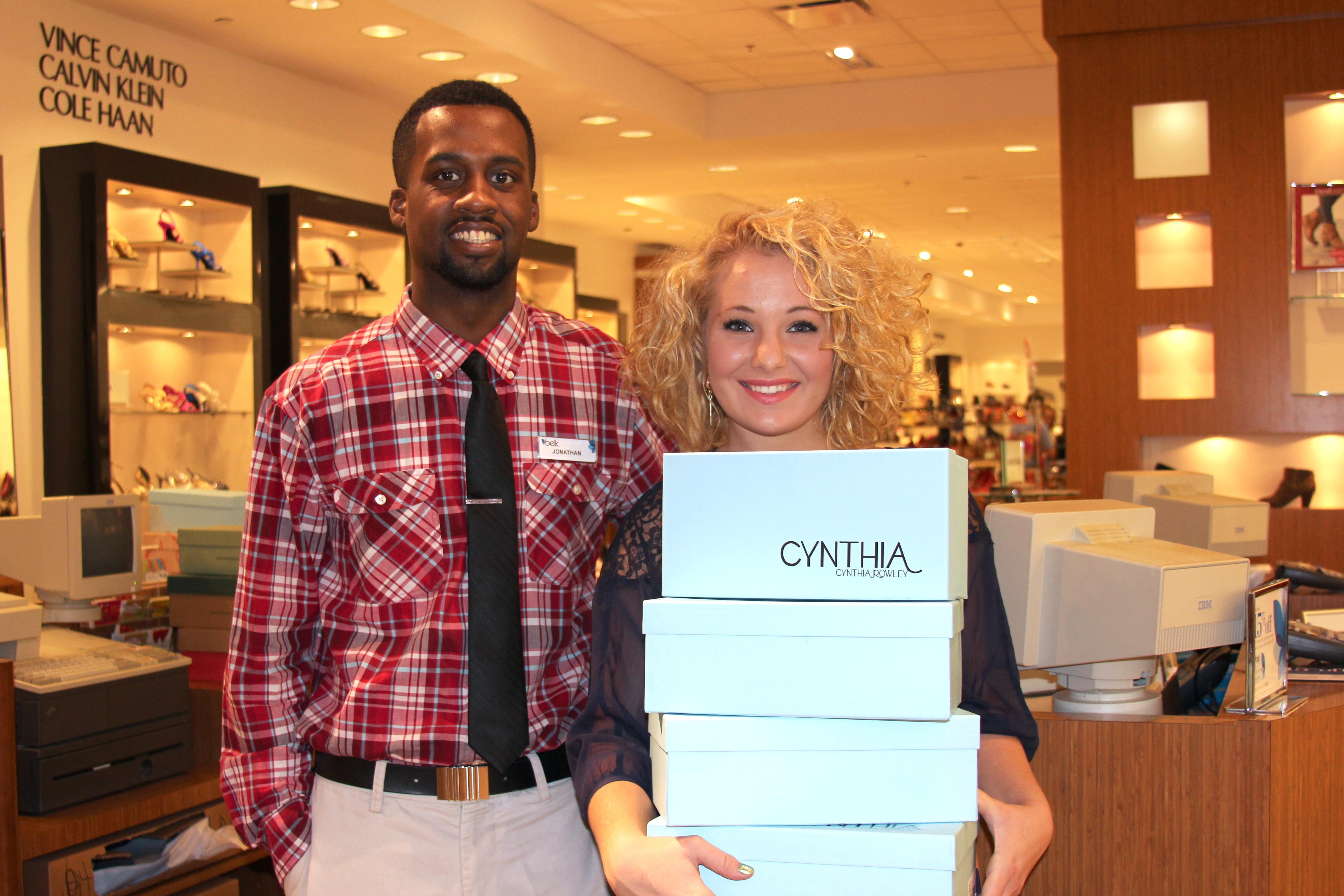 Belk Shoe Sales Associate