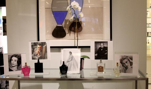 Fragrance expert Tara told us about some old Hollywood stars who signature perfumes were Creed. I think I will be adding Audrey Hepburn's favorite, Spring Flower, for Christmas! Dear Santa...*wink*
