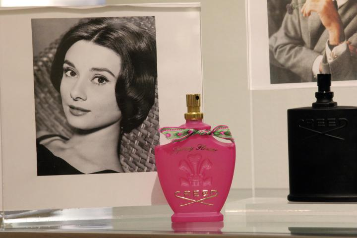 I am adding Spring Flower, Audrey Hepburn's Creed perfume, to my Christmas list! I want to smell like Audrey Hepburn once did...what fashionista doesn't!