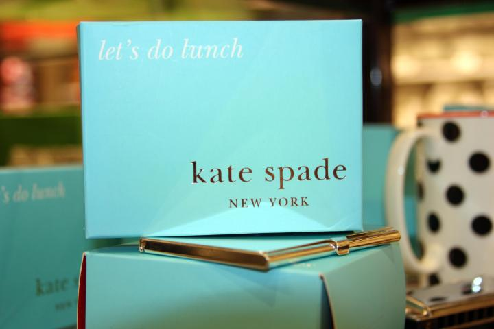 Surprise your fabulous work colleges with these darling Kate Spade business card holders or....
