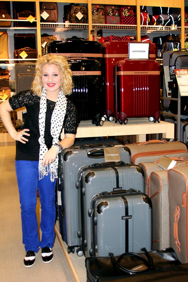 """This year, I decided I wanted the jet-setters in my to travel in style with matching Hartmann luggage! No more mismatched luggage and worn out duffle bags--no sir! Matching Hartmann luggage from Belk--yes sir! """" Throughout its history, Hartmann has upheld its image as the definitive American purveyor of stylish carrying bags, always viewing luggage as a veritable fashion accessory....Hartmann has always been the brand of choice for discerning travelers."""" (www.hartmann.com)"""