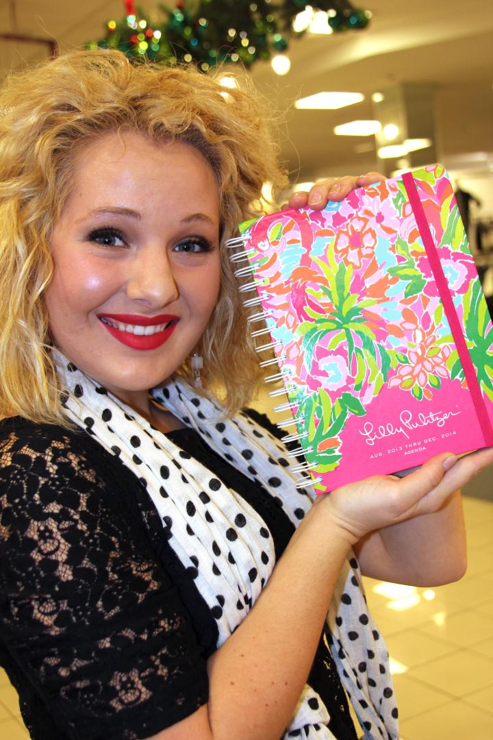 Another great gift idea by Lily Pulitzer is this colorful calendar!