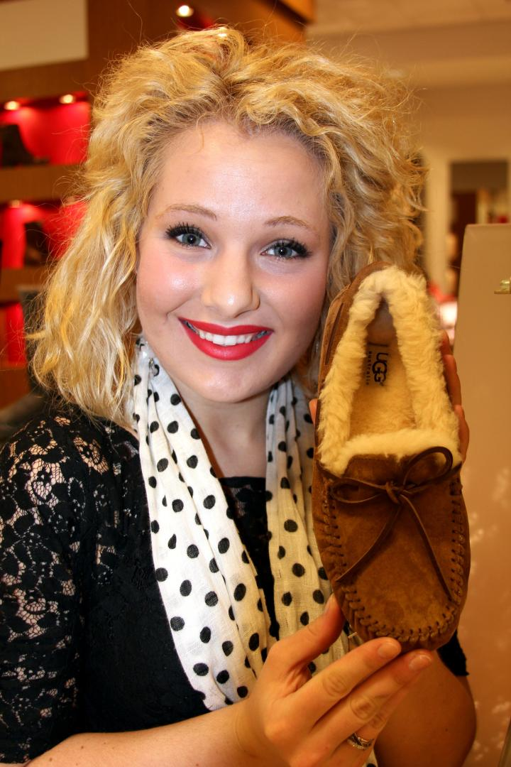Oh, and one more thing, Santa...I would really like these UGG slippers!