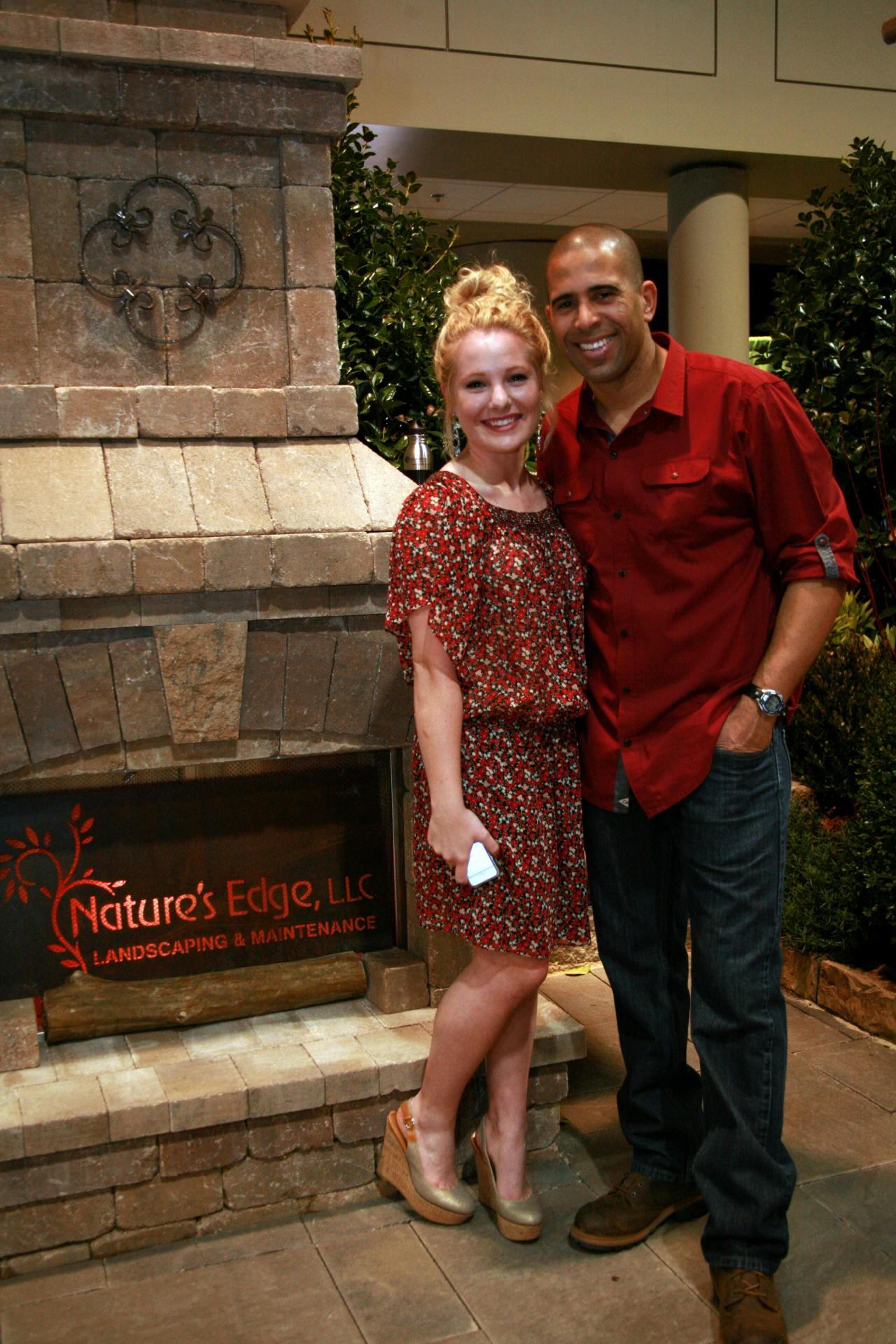 Special thanks to Nature's Edge, LLC for letting the VIP hold the interview with Ahmed Hassan at your beautiful display at the Birmingham Home and Garden Show 2014. You guys are awesome!