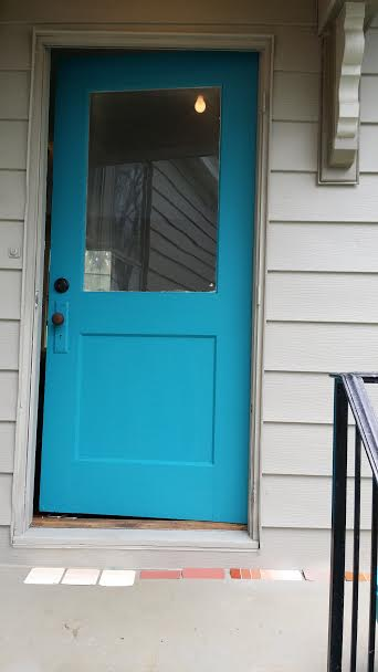 My next outside paint project is deciding what color to paint the porch floor. Decisions...decisions...decisions...