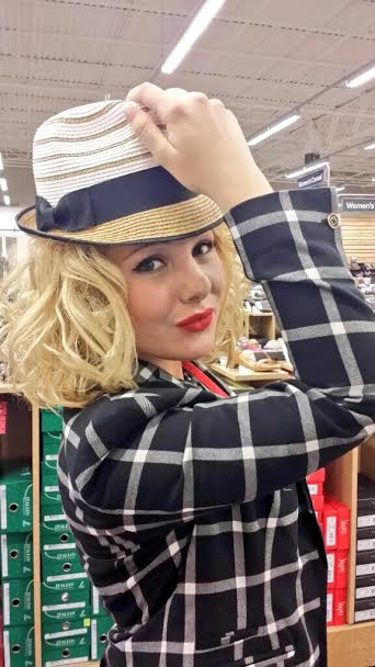 Did you know that DSW also has hats? Say what?! Yes...it's true--and they are super cute hats!
