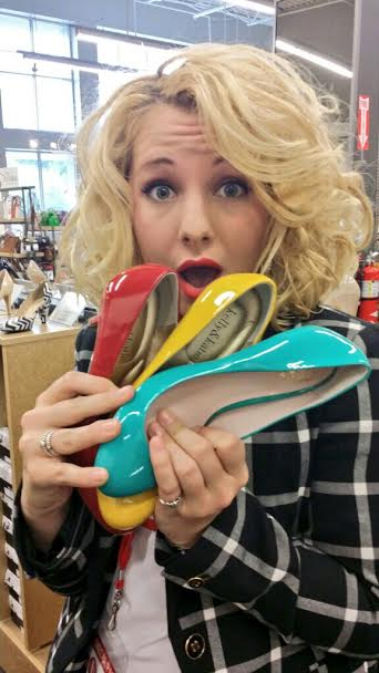 DSW at Brookwood Village is a shoe paradise! Oh, so many great shoes and such little time!