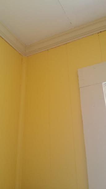 Tah dah! I lovely yellow kitchen!