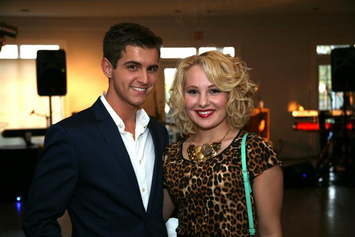 Cameron and the VIP looking fabulous at the VIP Party.