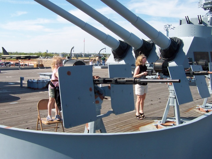 Throw back to when the family and I visited the USS Alabama--this was totally fabulous! I think I am going to go nag my dad to go back soon *wink*