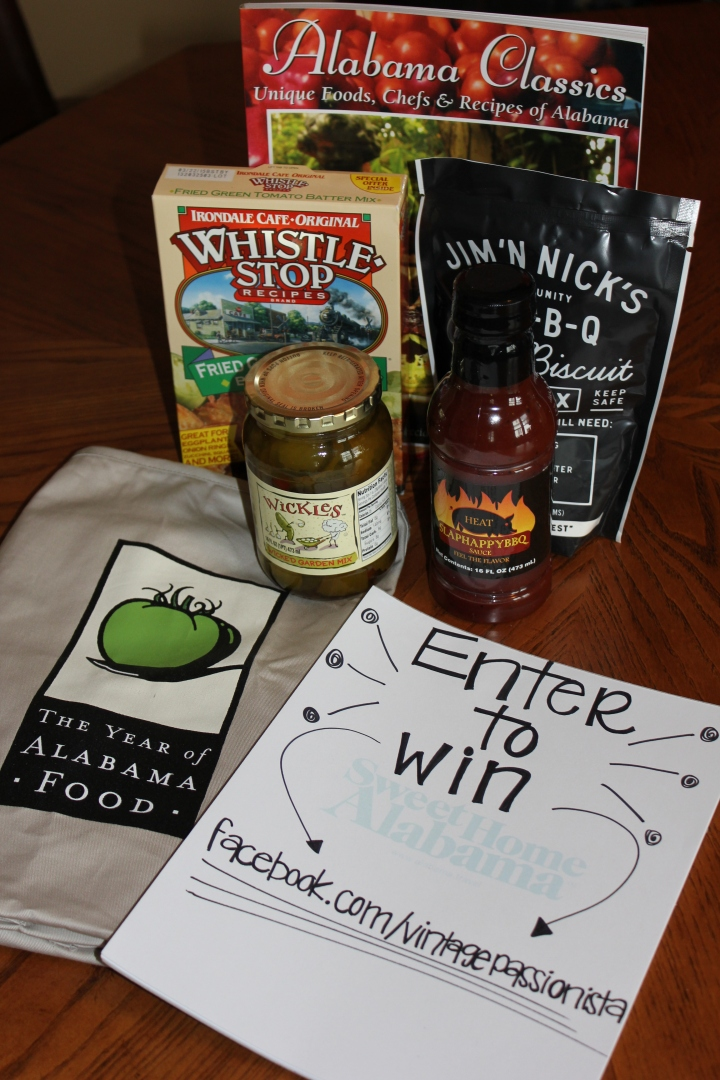 Second Giveaway: If you love food as much as this Southern gal...then you will DEFINITELY want to enter this Alabama swag bag giveaway! Stay tuned to the VIP Facebook page for this giveaway to be announced.