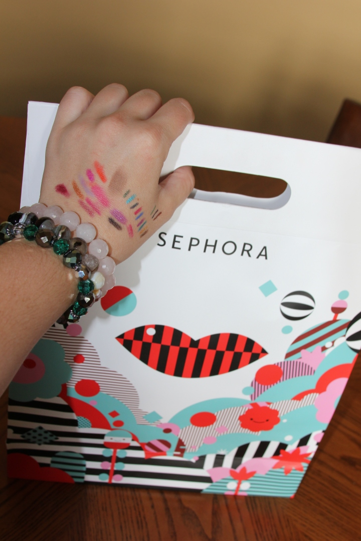 Oh, Sephora is so fun! It's like a fancy toy store for fashionistas *wink*